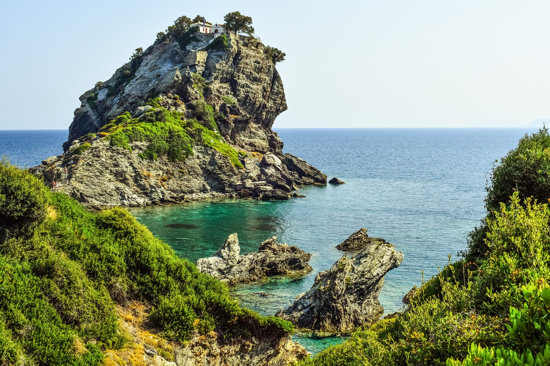 Sailing the Sporades